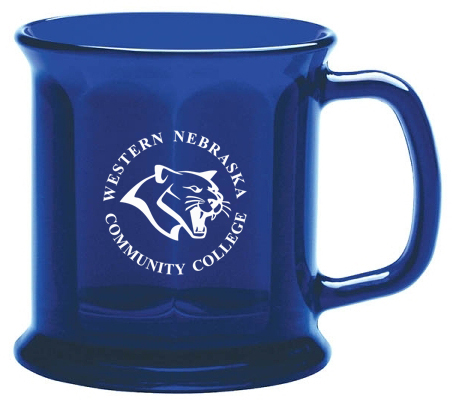 Mug Presidental W/Cougar Head & Wncc (Glass)