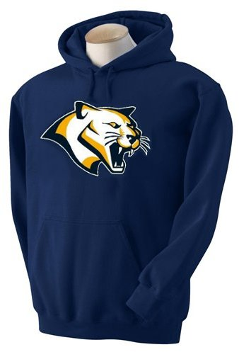 Hooded Sweatshirt W/Embroidered Cougar Head*Xxl N