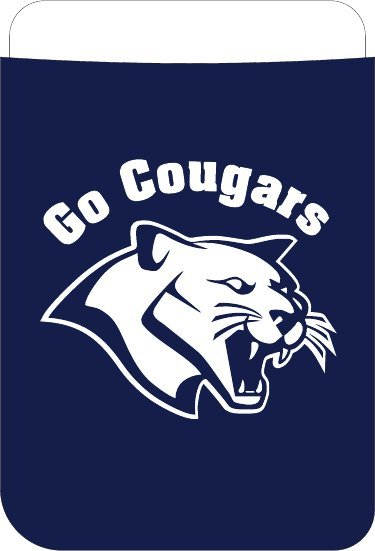 Koozie Go Cougars Can Cooler* Navy Misc